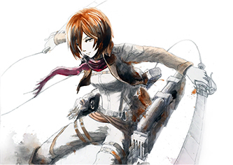 018 Mikasa Ackerman (Attack on Titan)