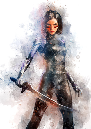 117 Alita (Alita: Battle Angel)