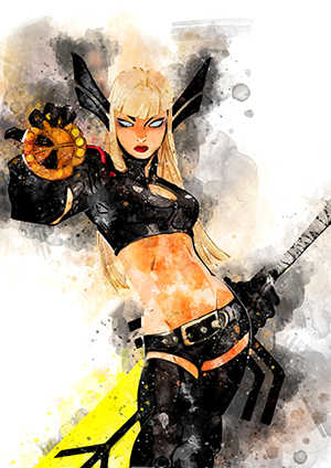 119 Magik (x men)