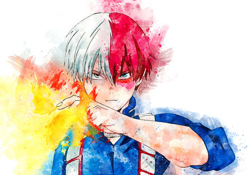 123 Shoto Todoroki (My Hero Academia)