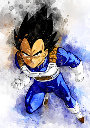 124 Vegeta (Dragon Ball Z)