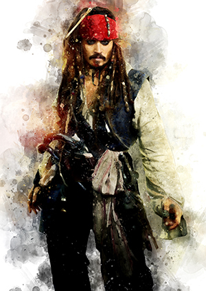 129 Jack Sparrow (Pirates of the Caribbean)