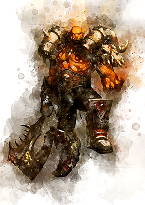 132 Garrosh Hellscream (World Of Warcraft)