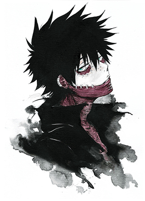 142 Dabi (My Hero Academia)