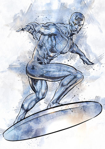 238 Silver Surfer (Fantastic Four: Rise of the Silver Surfer)